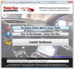 TOAD OBD Windows